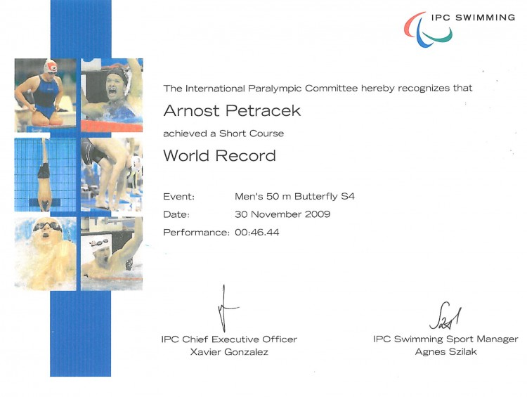23_European Record 50m Butterfly 2009