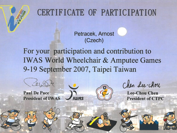 41_2007 IWAS World Wheelchair and Amputee Games Taipei Taiwan
