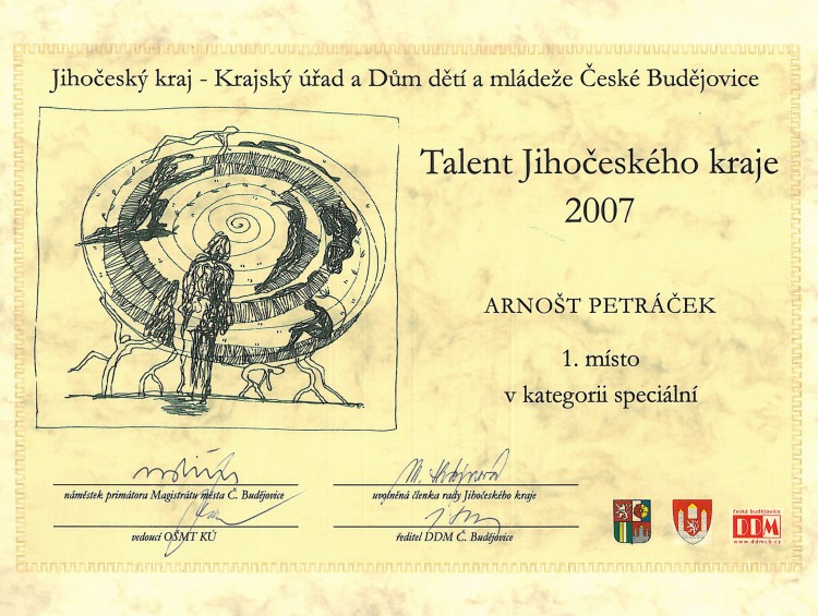 39_Talent JihoüeskÇho kraje 2007