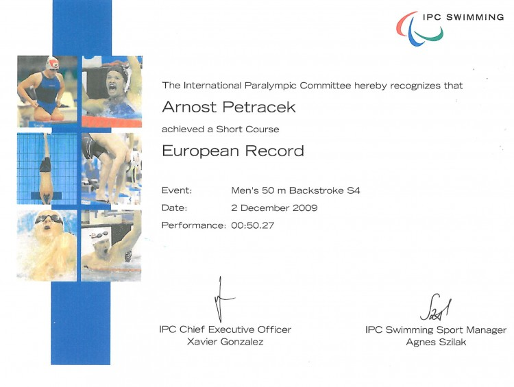 24_European Record 50m Backstroke